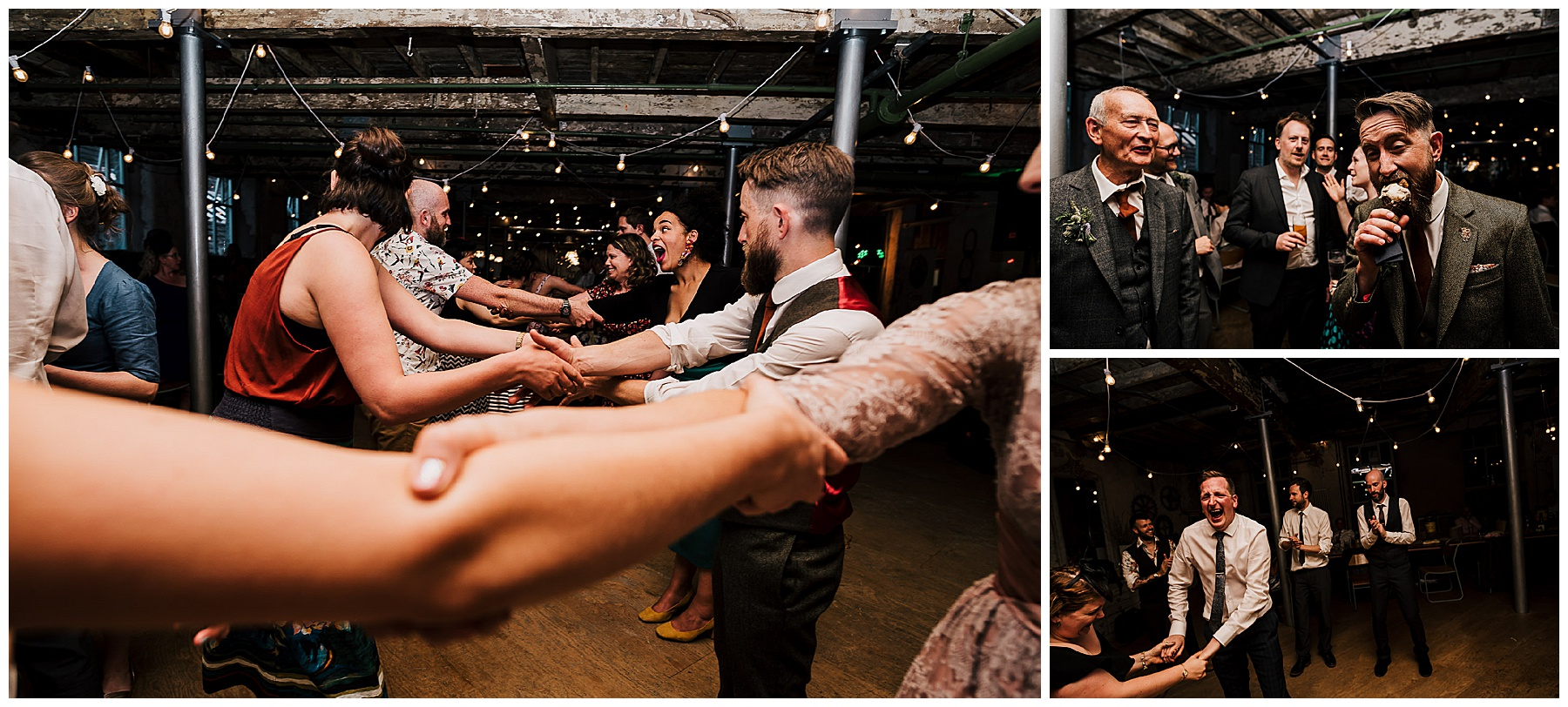 Holmes Mill – An Ultra Cool Vintage Wedding