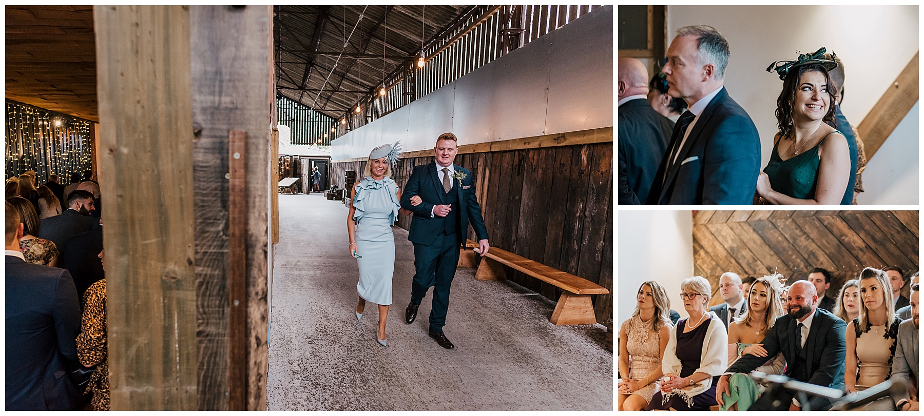 A Bonfire Weekend Wedding at Owen House Wedding Barn