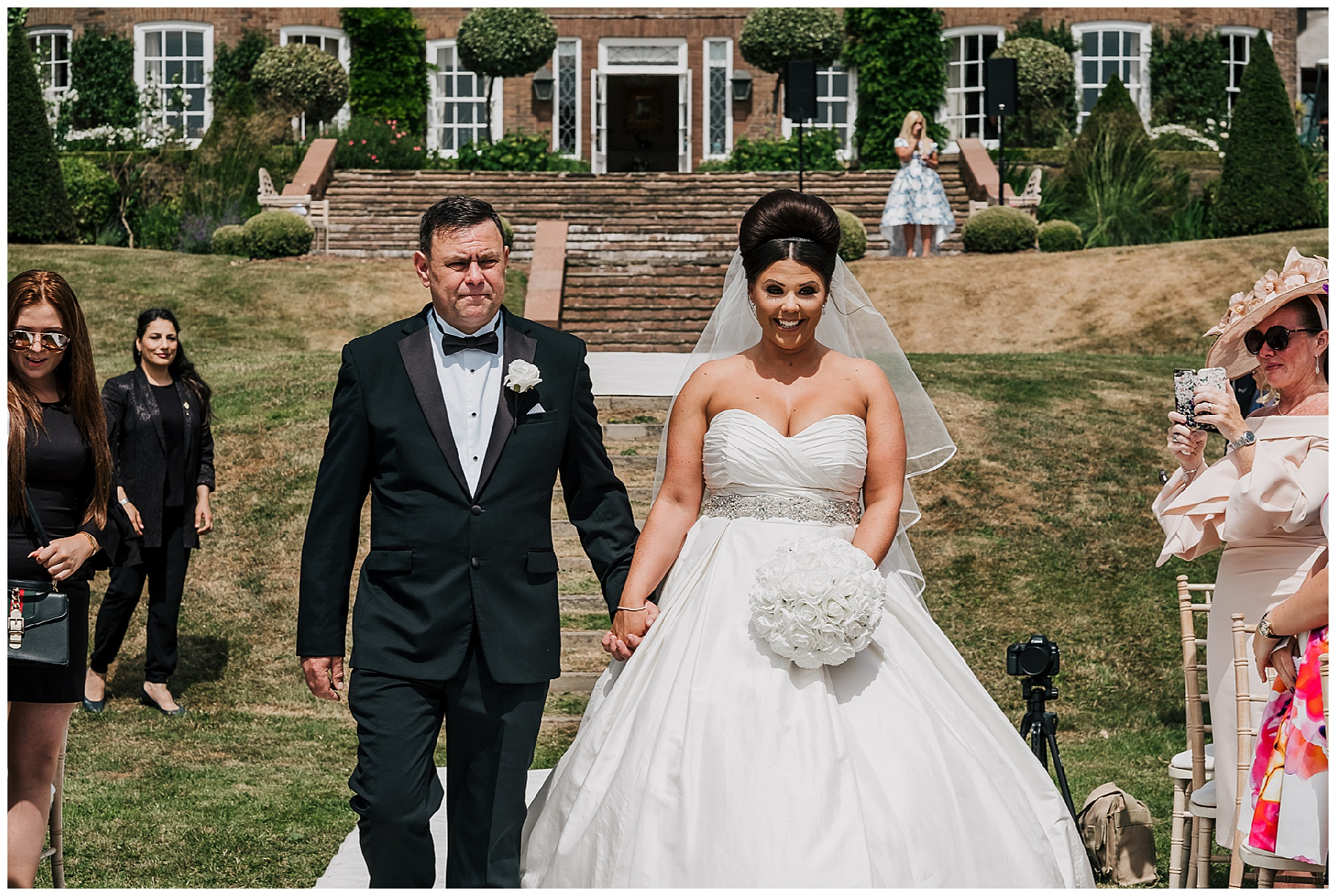 A Dreamy Summer Wedding at Delamere Manor