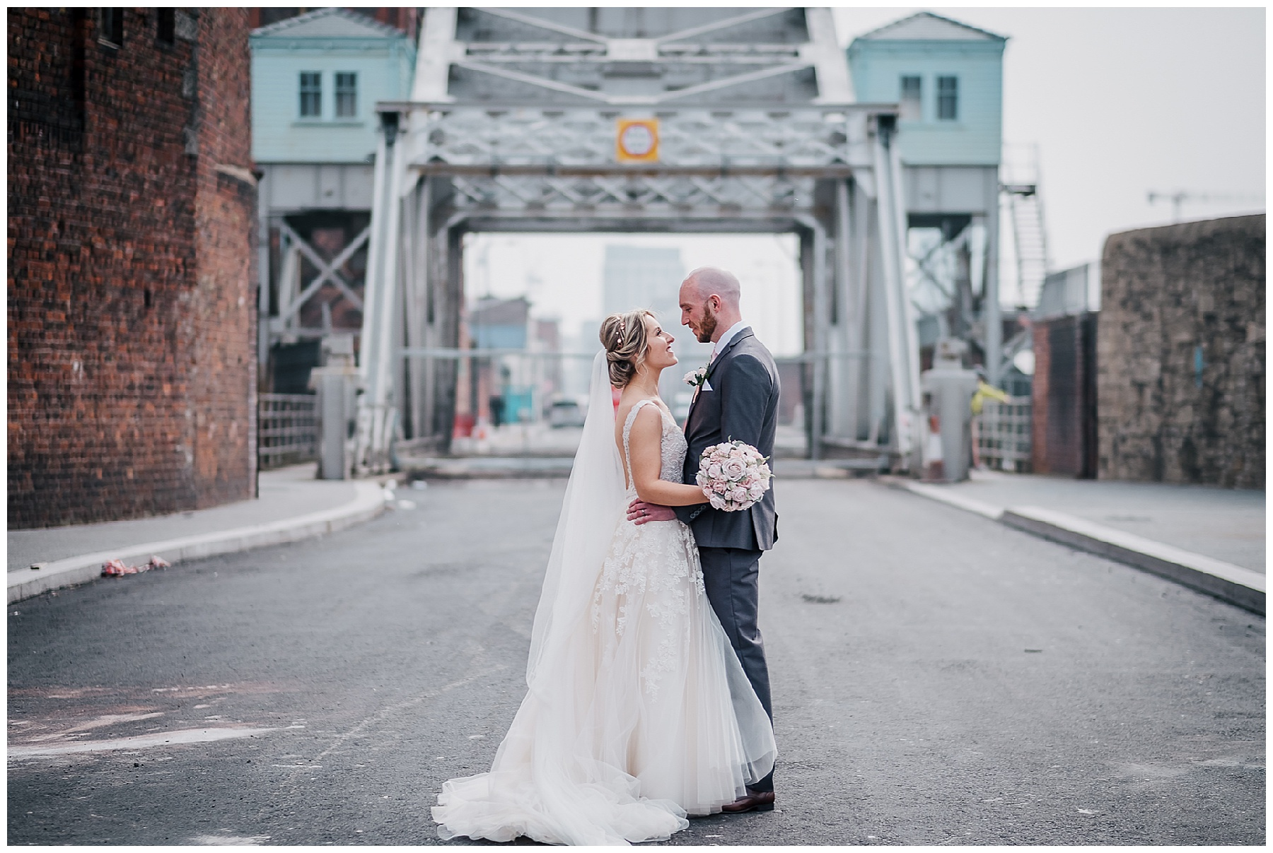 City Wedding Lushness at The Titanic Hotel