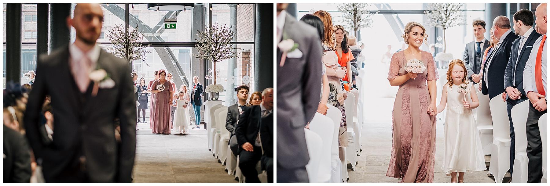 City Wedding Lushness at The Titanic Hotel