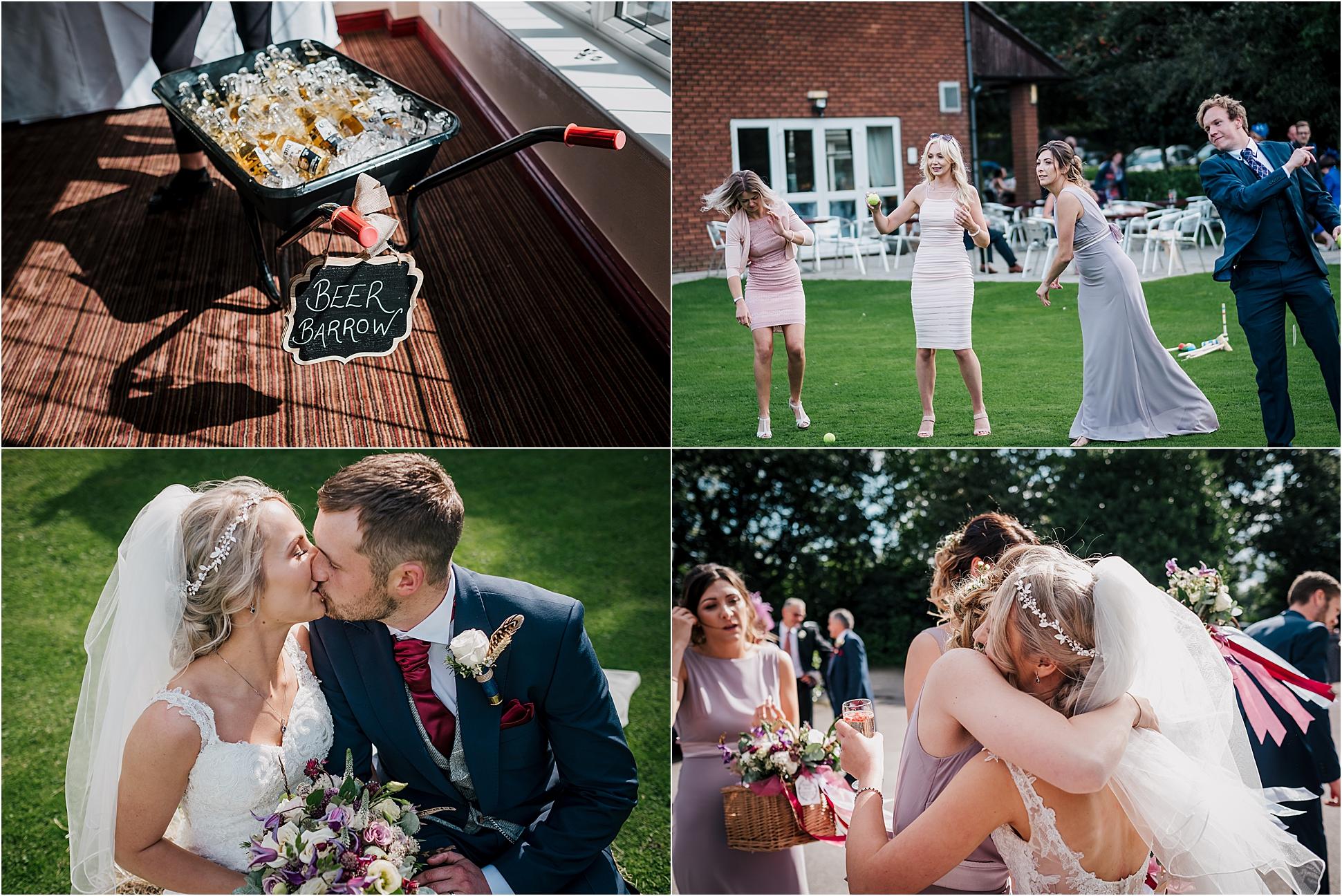 Sara and Mark – Briars Hall Country Wedding