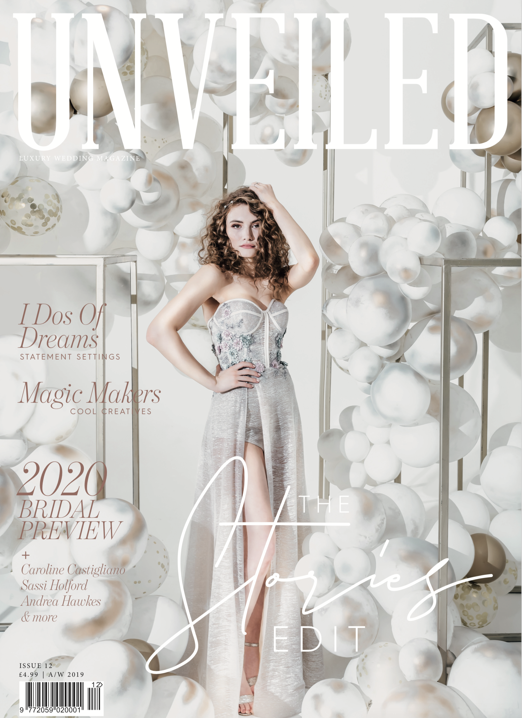 Cover Shoot for Unveiled Magazine
