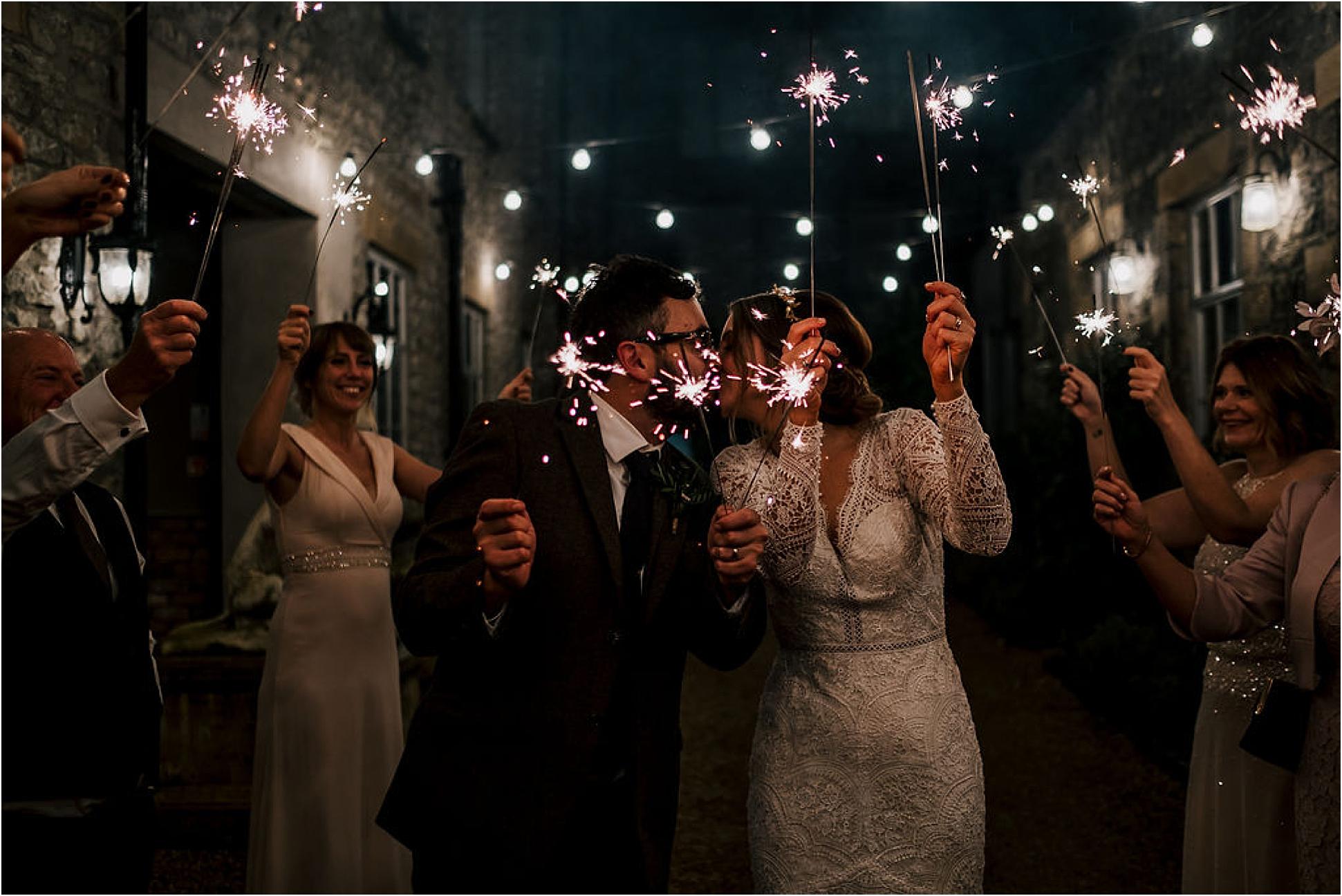 Iain + Jen's Winter Wedding at Holmes Mill